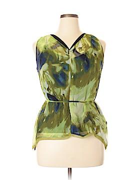 Simply Vera Vera Wang Sleeveless Blouse Size XL (Petite)