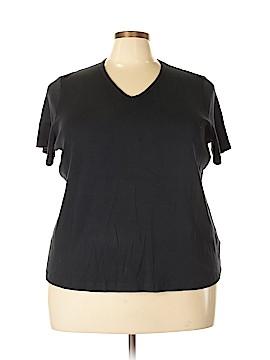 Lands' End Short Sleeve Blouse Size 3X (Plus)