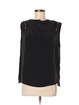 All Saints Short Sleeve Silk Top Size 6