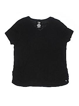 Danskin Now Short Sleeve T-Shirt Size 1X (Plus)