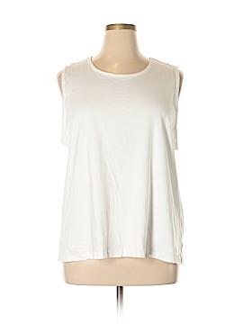 L.L.Bean Sleeveless T-Shirt Size 2X (Plus)