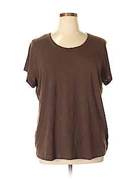 DressBarn Short Sleeve T-Shirt Size 1X (Plus)