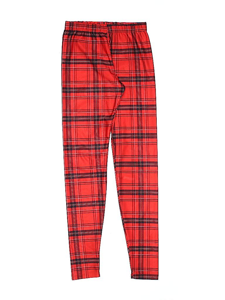 8bd6d06b Zara Terez Plaid Red Leggings Size L (Kids) - 92% off | thredUP