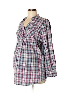 Motherhood 3/4 Sleeve Button-Down Shirt Size M (Maternity)