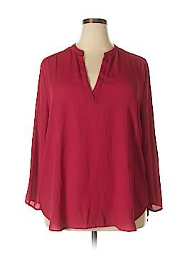 Misia 3/4 Sleeve Blouse Size 2X (Plus)