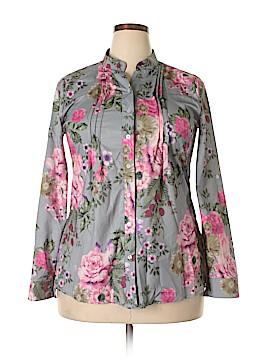 Unbranded Clothing Long Sleeve Blouse Size 2X (Plus)