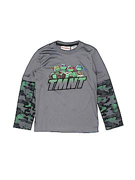 Nickelodeon Long Sleeve T-Shirt Size 6 - 7