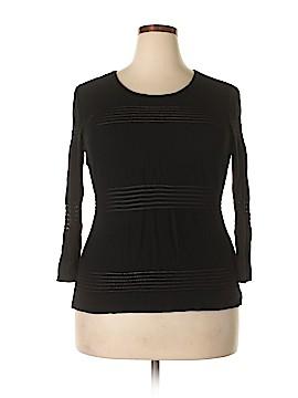 Roz & Ali 3/4 Sleeve Top Size XL
