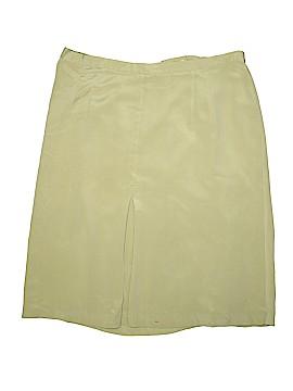 Travis Ayers Silk Skirt Size 24 (Plus)