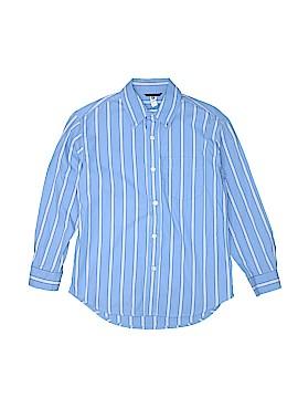 Gap Kids Outlet Long Sleeve Button-Down Shirt Size 8