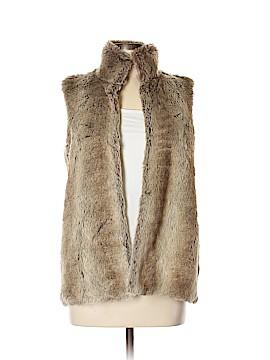 Kardashian Kollection Faux Fur Vest Size L