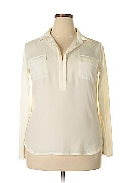 Joe Fresh Long Sleeve Blouse Size XL