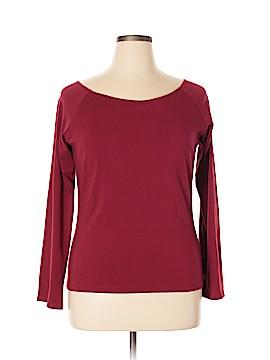 Moda International Long Sleeve Top Size 1X (Plus)