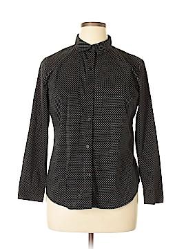 Apt. 9 Long Sleeve Button-Down Shirt Size XL (Petite)
