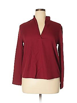 Finejo Long Sleeve Blouse Size XL