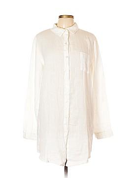 Cosmopolitan Long Sleeve Button-Down Shirt Size L