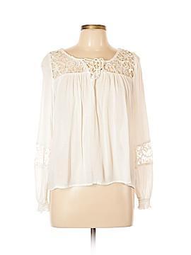 Hollister Long Sleeve Blouse Size L