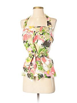Milly Sleeveless Silk Top Size 2