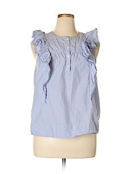 J. Crew Short Sleeve Blouse Size 14 (Tall)