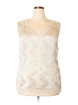 DressBarn Sleeveless Blouse Size 22 (Plus)