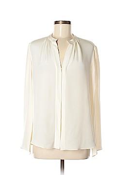 Derek Lam Long Sleeve Silk Top Size 8