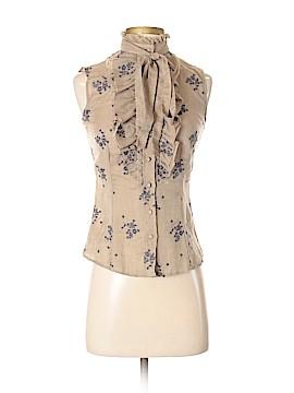 Tocca Sleeveless Button-Down Shirt Size 2