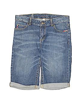 Lands' End Denim Shorts Size 16