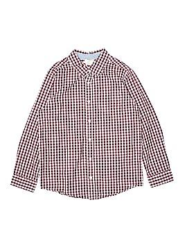 Crazy 8 Long Sleeve Button-Down Shirt Size 10 - 12