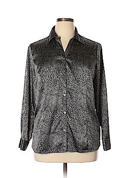 Croft & Barrow Long Sleeve Blouse Size XL