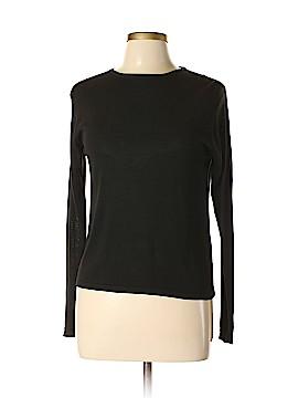 Kevo Long Sleeve Silk Top Size L