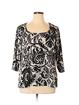 Jessica Simpson 3/4 Sleeve Blouse Size 24 (Plus)