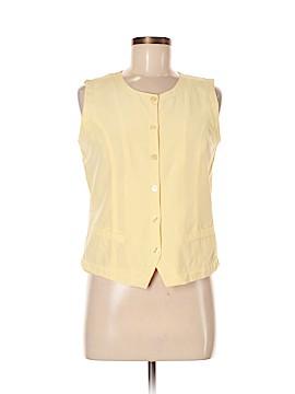 Stephanie Andrews Sleeveless Silk Top Size M