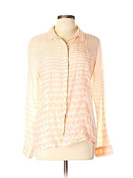 Halogen Long Sleeve Button-Down Shirt Size L