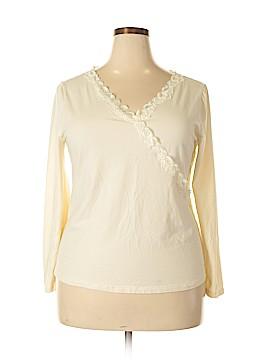 Venezia Long Sleeve Top Size 18 (Plus)