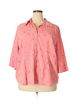 Studio 1940 3/4 Sleeve Blouse Size 22 - 24 (Plus)