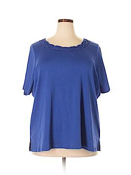 Allison Brittney Short Sleeve Top Size 3X (Plus)