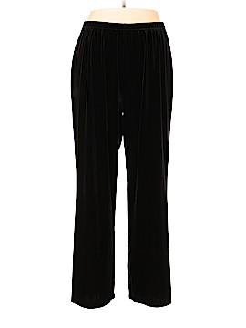 Coldwater Creek Velour Pants Size 1X (Plus)