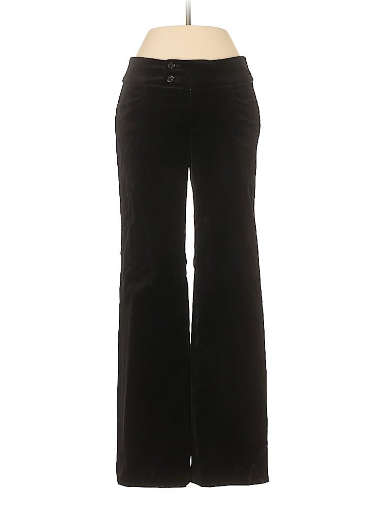 Banana Republic Women Velour Pants Size 00 (Petite)