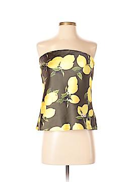 Rosette Sleeveless Top Size S