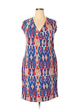 Jones New York Signature Casual Dress Size 1X (Plus)