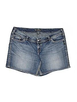 Silver Jeans Co. Denim Shorts Size 22 (Plus)