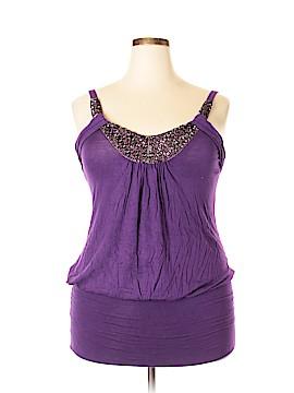 Janette Plus Sleeveless Top Size 2X (Plus)