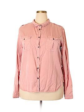 Universal Thread Long Sleeve Button-Down Shirt Size XXL