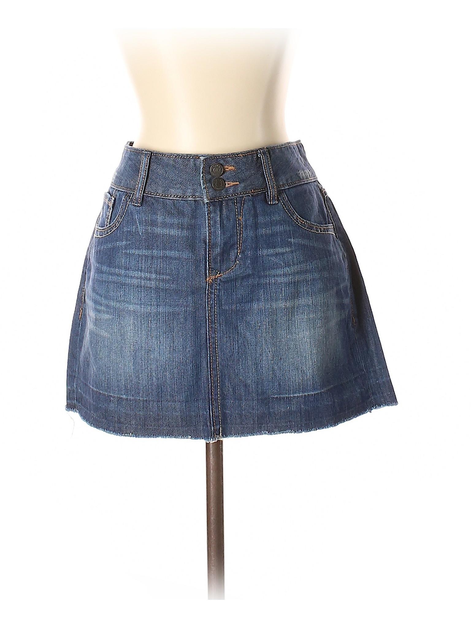 Skirt Boutique Boutique Boutique Skirt Denim Denim ExqZz