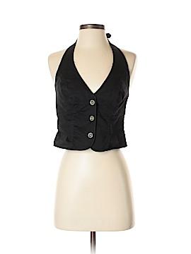 London Jean Tuxedo Vest Size S