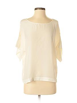 Eloise Short Sleeve Silk Top Size S