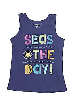 Cat & Jack Sleeveless T-Shirt Size 7 - 8