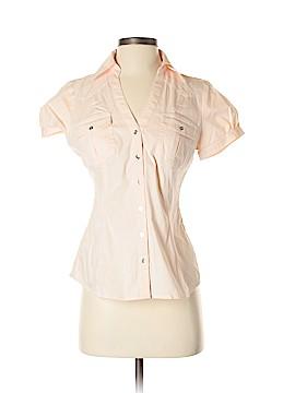 Express Short Sleeve Button-Down Shirt Size S