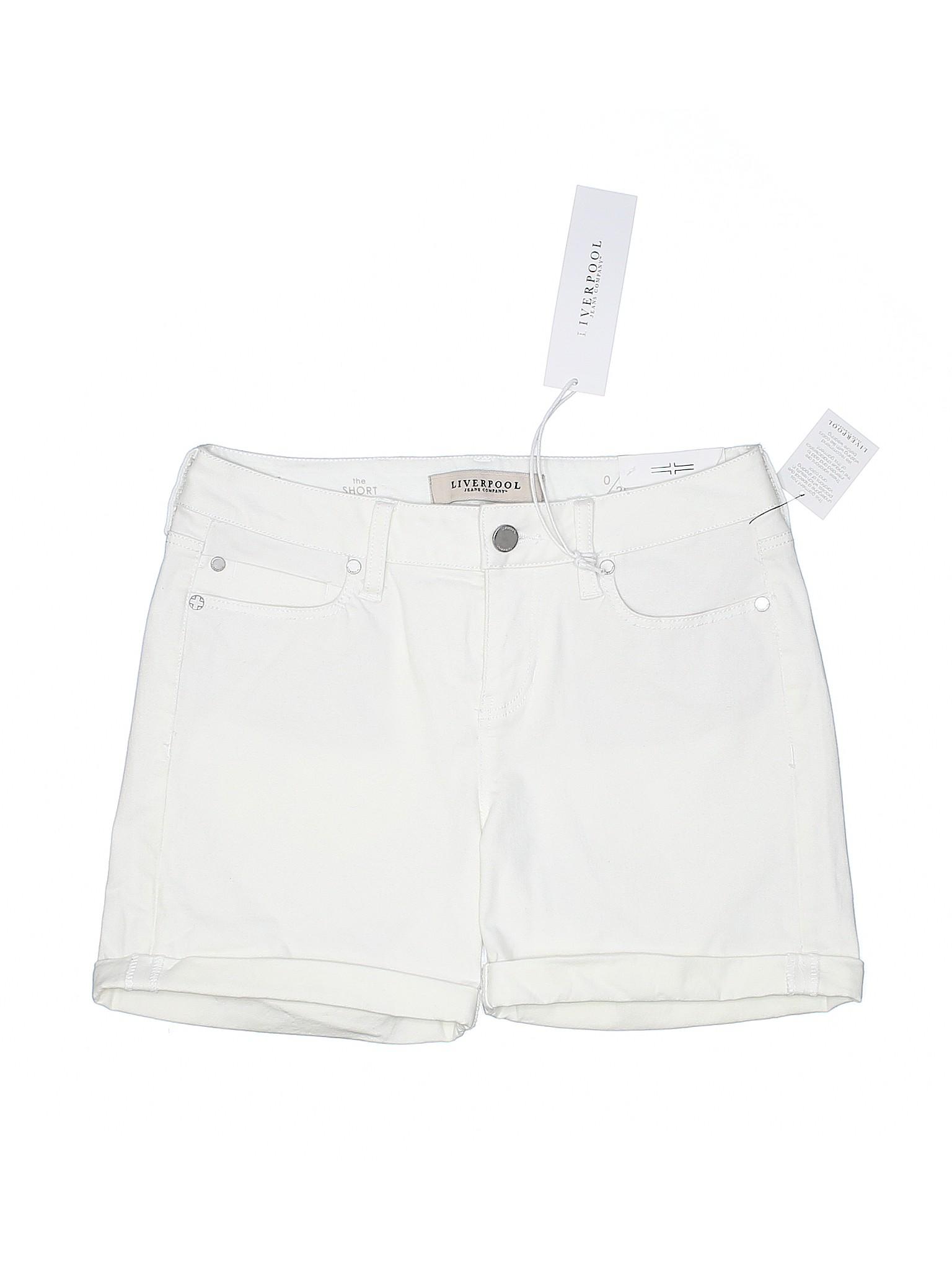 Leisure Denim Jeans Liverpool Company Boutique Shorts 6qOBwxda