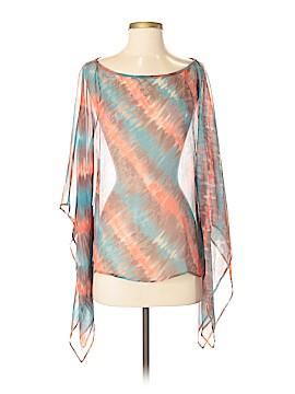 Matty M Long Sleeve Silk Top Size XS